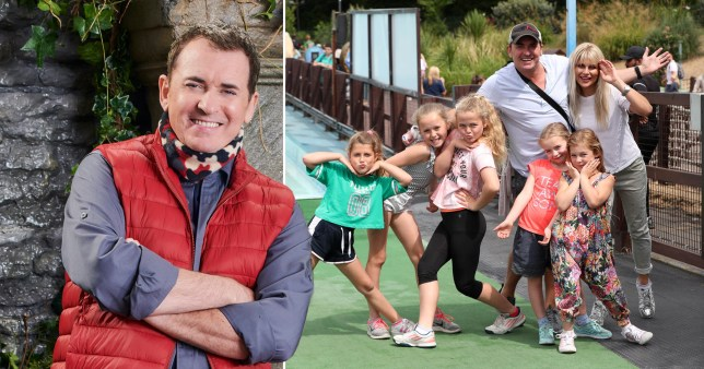 I?m A Celebrity?s Shane Richie had a panic attack on family camping trip when he tried to prepare for show ITV/ REX