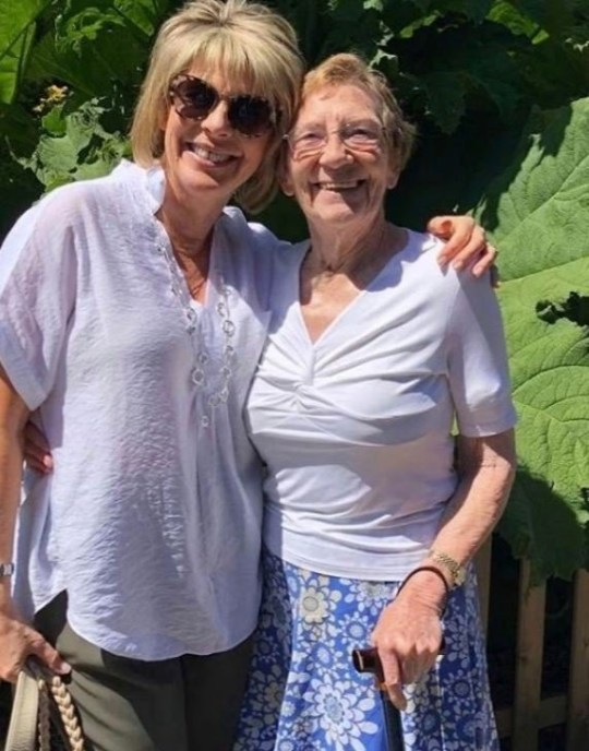Ruth Langsford and mum