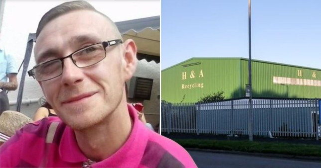 Man crushed inside recycling compacter when colleague mistakenly switched it on