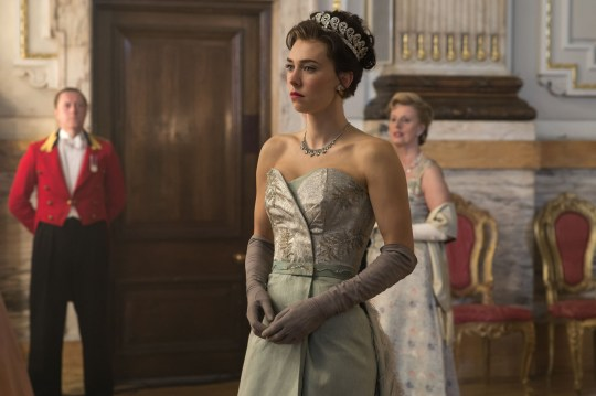 Vanessa Kirby como Princess Margaret en The Crown