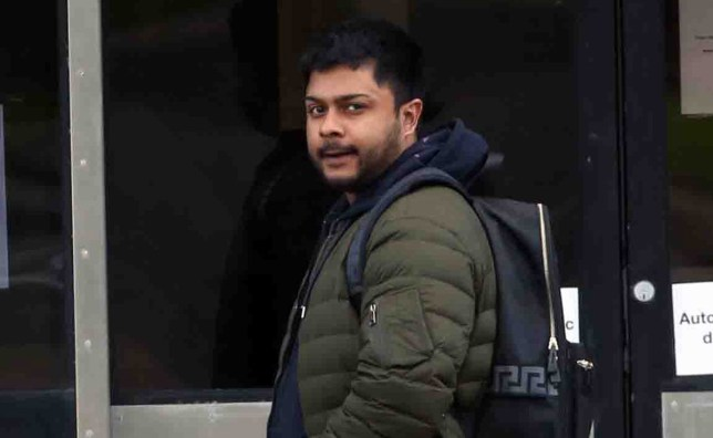 A pervert who performed a sex act on a driveway and flashed his bottom during a bizarre stalking campaign of a random family has avoided an immediate stint behind bars. As previously reported on ChronicleLive, Syed Ahmed repeatedly targeted the victims over a 12-month period outside their Fenham home. On various occasions between November 2019 and October 2020, the 29-year-old set up a deck chair opposite the house and stared in, tried to open the back door, shouted sexual slurs and peered inside windows. Syed Ahmed outside North Tyneside magistrates court, North Shields