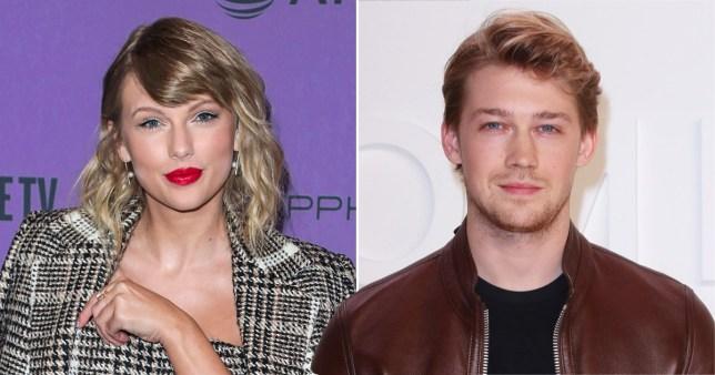 Singer Taylor Swift and actor Joe Alwyn