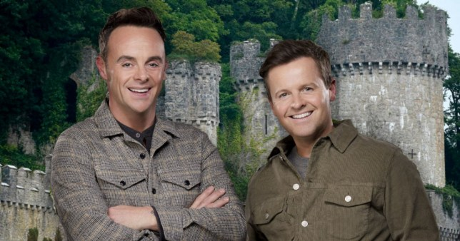 Ant and Dec I'm a Celebrity Gwrych Castle