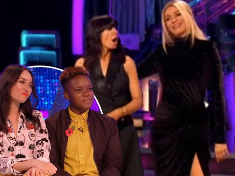 Strictly 2020: Claudia Winkleman and Tess Daly 'so sorry' for Nicola Adams and Katya Jones after early departure