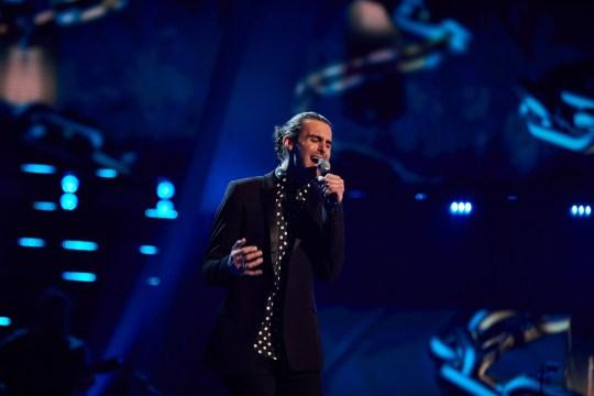 Jonny Brooks on The Voice