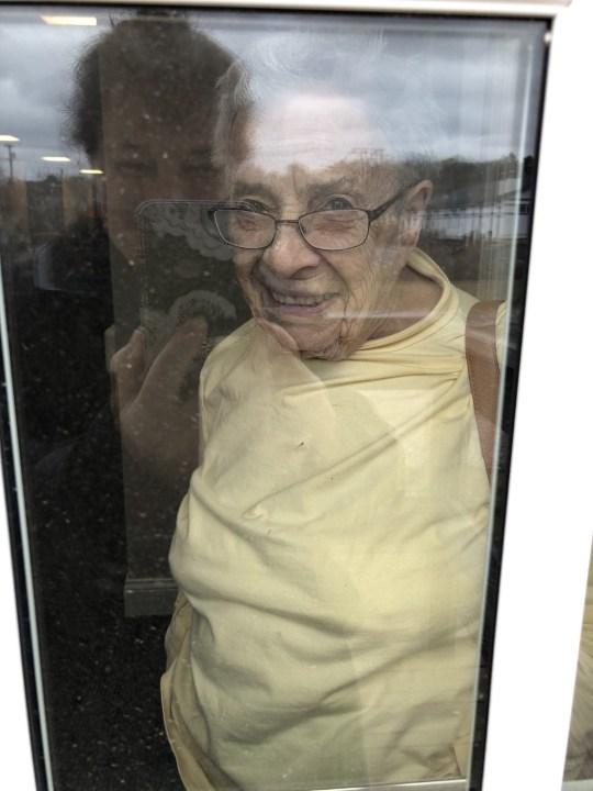 Woman with dementia playing piano Pics: Randi Lebar