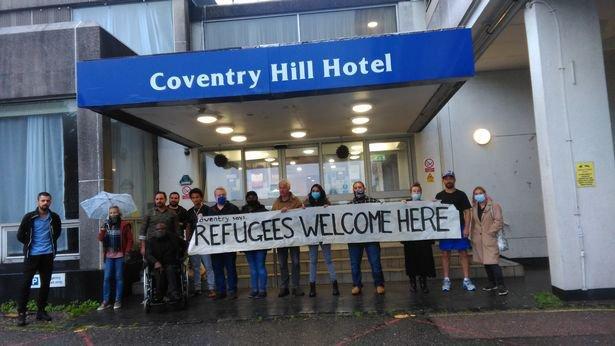 Asylum seeker preparing to spend second Christmas in Britannia hotel