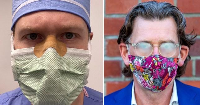 Doctor's hack for stopping glasses fogging up