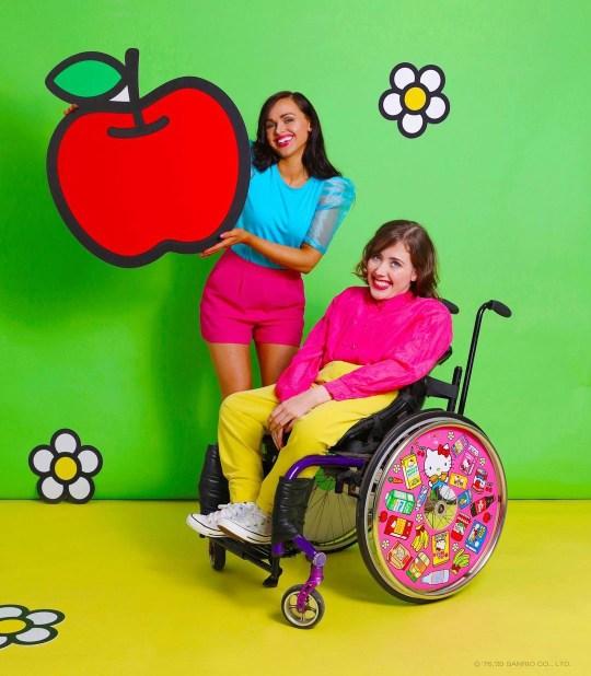 Ailbhe and Izzy Keane, the creators of Izzy Wheels