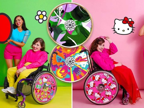 Izzy Wheels: The sister duo transforming wheelchairs into fashion