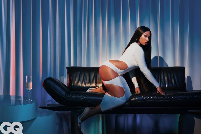 GQ Men of the Year issue - Megan Thee Stallion