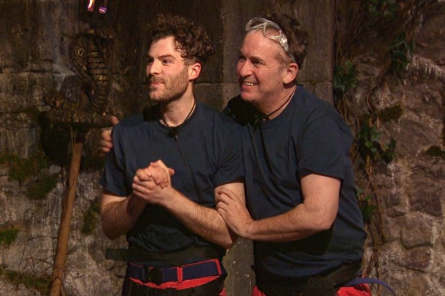STRICT EMBARGO - NO PUBLICATION BEFORE 22:00 GMT Monday 16th November 2020 Mandatory Credit: Photo by ITV/REX (11018485ew) Trial, Viper Vault - Jordan North and Vernon Kay 'I'm a Celebrity... Get Me Out of Here!' TV Show, Series 20, Show 2, Gwrych Castle, Wales, UK - 16 Nov 2020