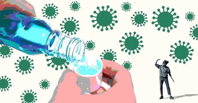Mouthwash 'can kill coronavirus within 30 seconds' Getty Images