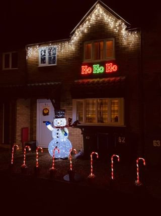 Hundreds of people have already sent in pictures of their early (Picture: Facebook/Light Up Locally)