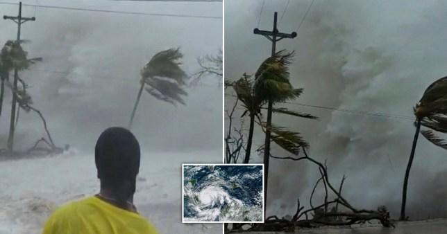 Le puissant ouragan a frappé la côte des Caraïbes lundi soir