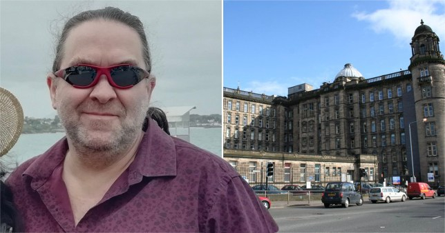 Steven Lavin and the Glasgow Royal Infirmary