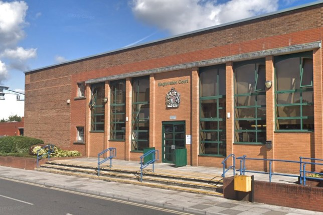 Woman said she was speeding at 103mph because she didn't realise she was back in England Swindon Magistrates Court Picture: Google Maps