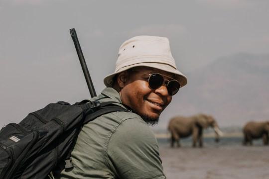 Botswanan safari guide Beks Ndlovu