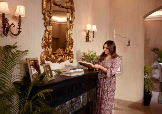 Gauri Khan in her home