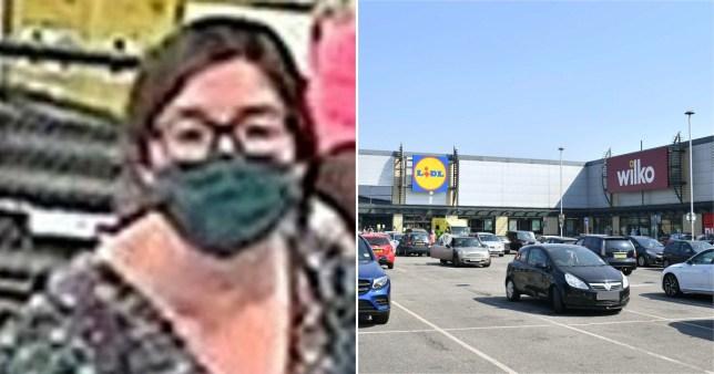 Composite image CCTV appeal and Tottenham Hale Retail Park