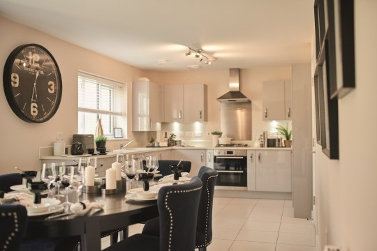 Strawberry Fields kitchen, Great Yeldham, Essex
