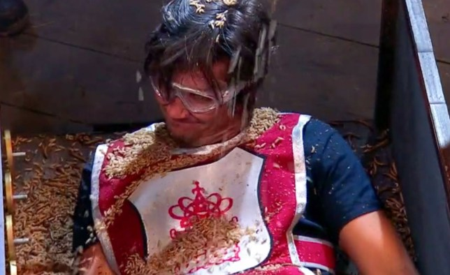 I'm A Celebrity's Vernon Kay covered in bugs