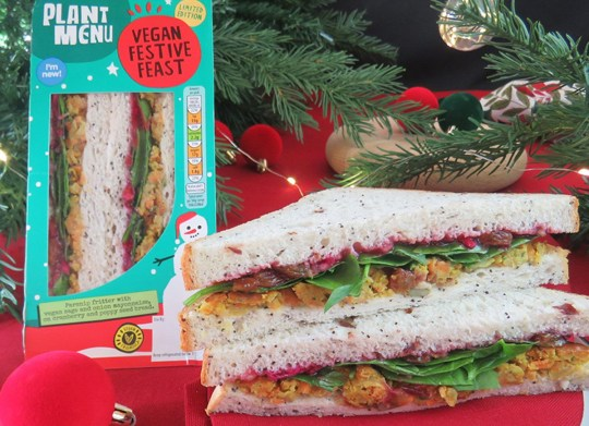 Aldi's Christmas range includes the Vegan Festive Feast.