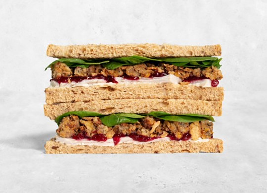 Pret's Christmas menu returns with its signature Pret's Christmas Lunch sandwich.