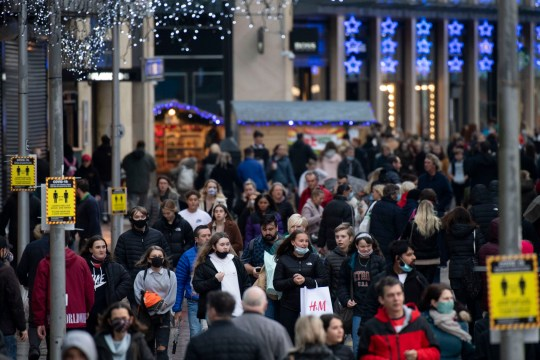 People crowded shops, pubs and bars in Wales after they came out of their firebreak lockdown.
