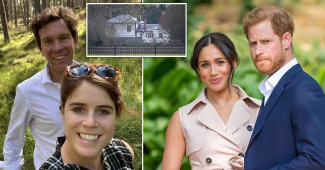 Meghan and Harry 'struck secret deal to hand UK home to Princess Eugenie?