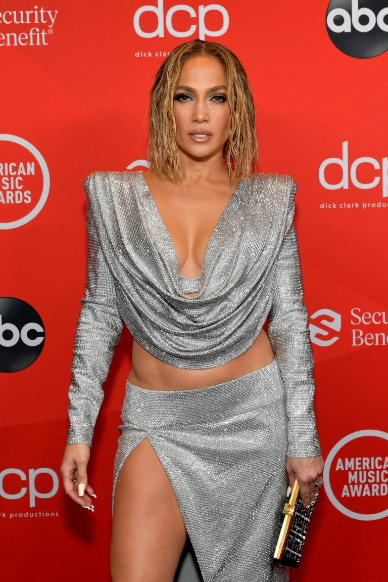 Jennifer Lopez at the American Music Awards 2020