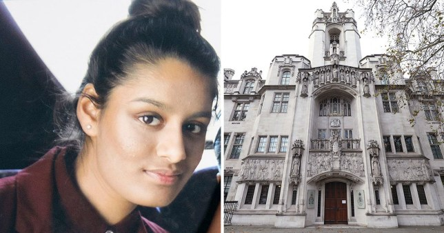 Supreme Court to hear Shamima Begum's appeal to return to UK today