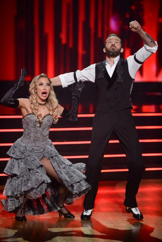 Kaitlyn Bristowe and Artem Chigvintsev on Dancing With The Stars