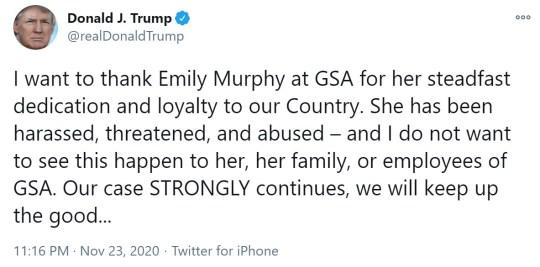 Dold Trump Tweets