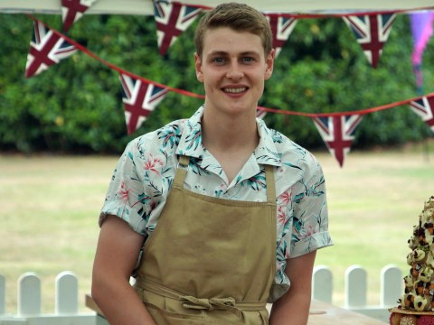 Which university does Bake Off winner Peter Sawkins go to and what is he studying?