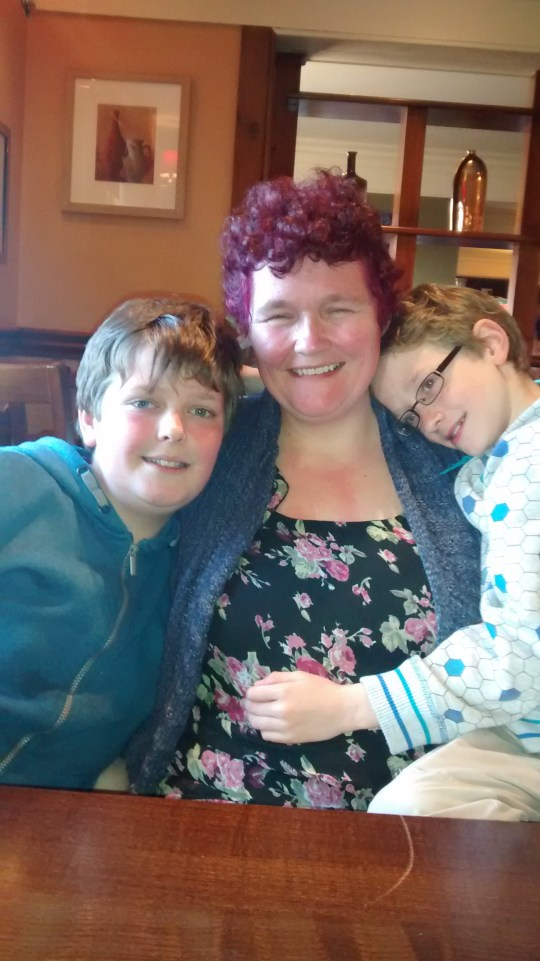 Claire Throssell lost her son's Paul and Jack in a fire
