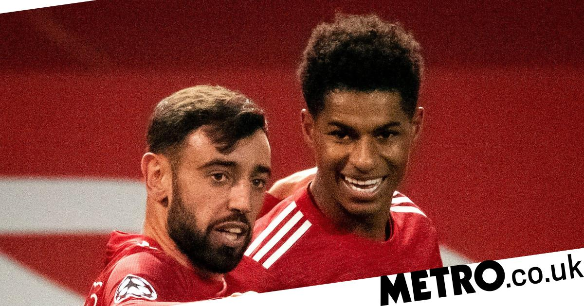 Marcus Rashford speaks on on Man Utd's penalty situation with Bruno Fernandes - Metro.co.uk