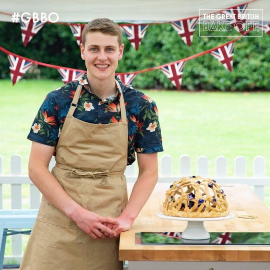Peter Sawkins bake off pics: Peter Sawkins/Instagram