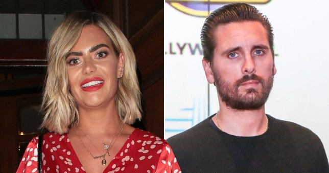 Megan Barton Hanson addresses Scott Disick sliding into her DMs