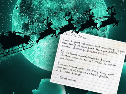 Boris says Covid won't stop Father Christmas coming after child's adorable letter