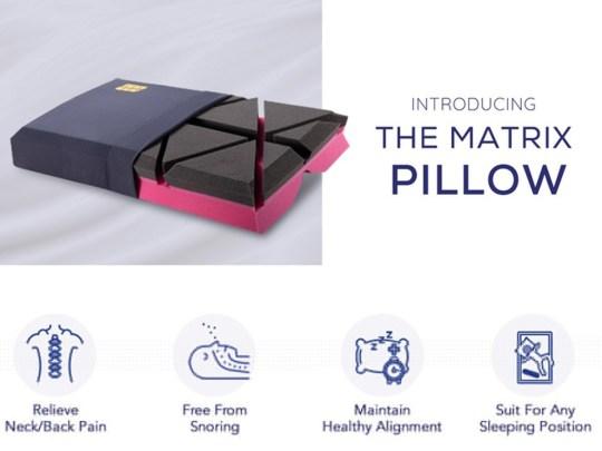 The matrix pillow advert