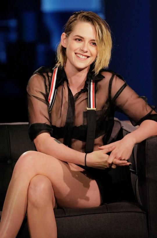 Kristen Stewart on Jimmy Kimmel Live