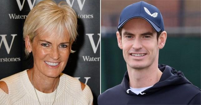 Judy Murray and Sir Andy Murray