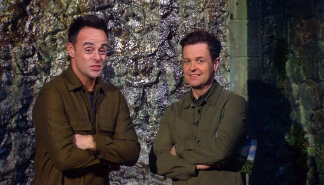 Ant and Dec on I;m a Celeb