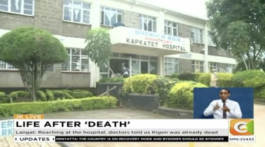 Shock in Kapkatet hospital as man wakes up in mortuary as morgue attendant prepared to embalm his body in Kenya