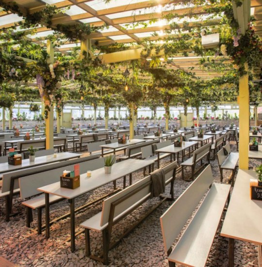 Pergola Paddington outdoor seating