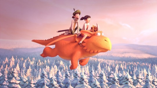 Zog and the Flying Doctors BBC Christmas
