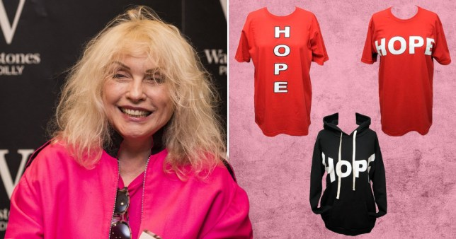 Blondie's Debbie Harry launches eco fashion line with sustainable designers Vin and Omi