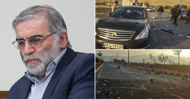 Iranian nuclear scientist assassinated in shootout EPA/Reuters
