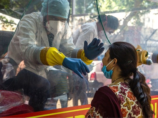 Picture: Getty Chinese scientists claim coronavirus originated in India